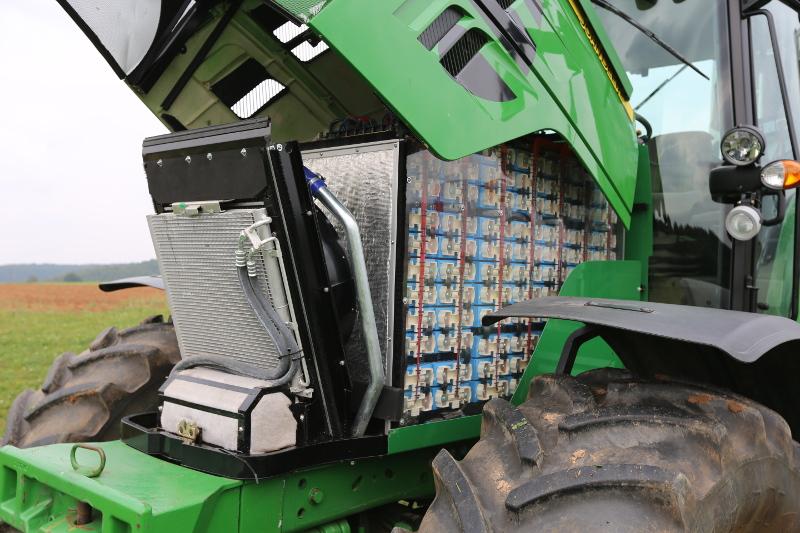 Elektromobilität auf dem Acker: John Deere präsentiert E-Traktor