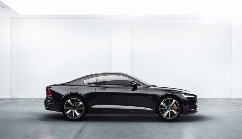 Das Plug-in-Coupé Polestar 1.