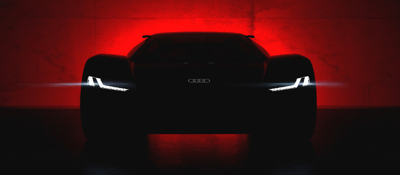 Wird am 23. August 2018 in Pebble Beach enthüllt – das Showcar Audi PB 18 e-tron.