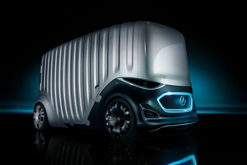 Mercedes-Benz Vision URBANETIC Cargo-Modul