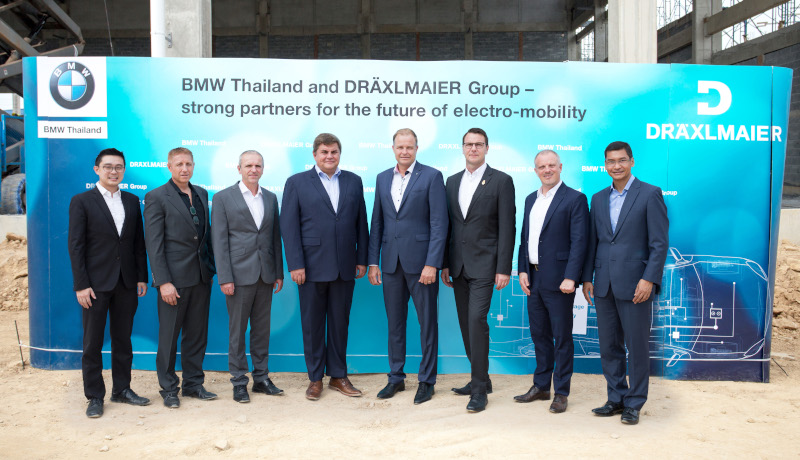 BMW Group lokalisiert Batterieproduktion in Thailand in Zusammenarbeit mit der Dräxlmaier Group.
