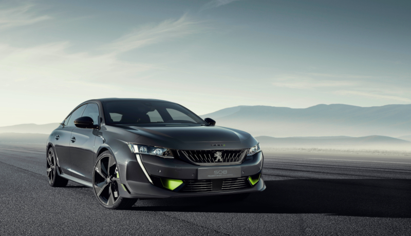 Das Concept 508 Peugeot Sport Engineered Neo-Performance.