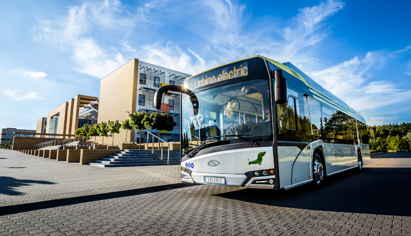 Der E-Bus Solaris Urbino Electric.