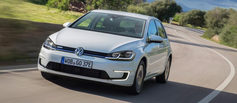 Resultado de imagem para VW e-Golf 2019 deutschland
