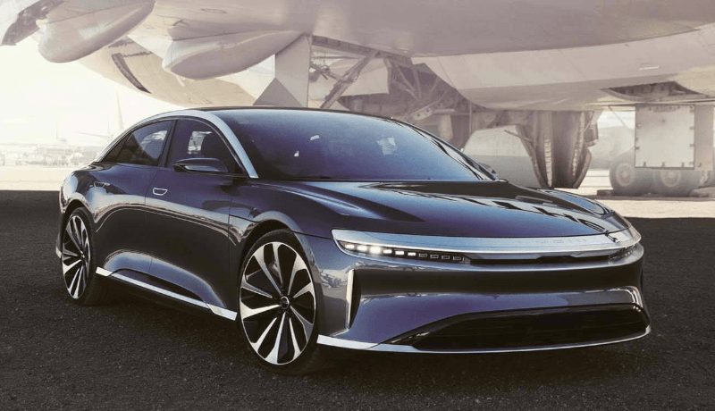 Die Serienversion des Luxus-Stromers will Lucid Motors im April in New York präsentieren.