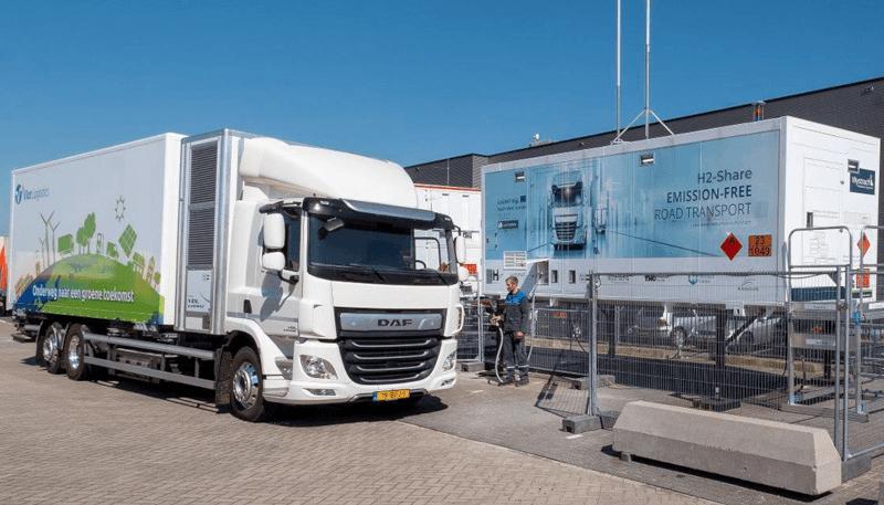 Wasserstoff-Lkw von VDL wird in den Niederlanden getestet