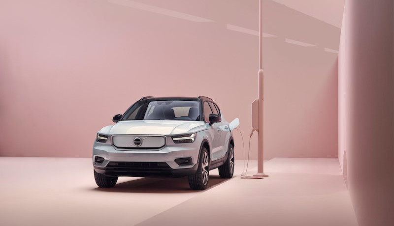 Red Dot Design Award 2020 geht an E-Volvo XC40 Recharge