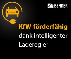 Bender - KfW-förderfähig dank intelligenter Laderegler