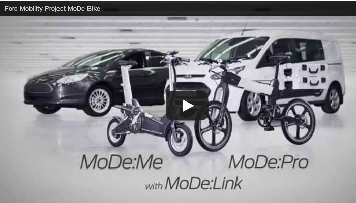 """Mobility designed for me"": Innovatives E-Bike-Konzept von Ford (Video)"