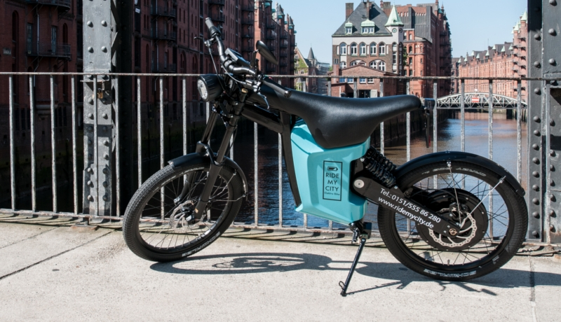 """RIDE MY CITY"": Unkonventioneller E-Bike-Verleih in Hamburg"