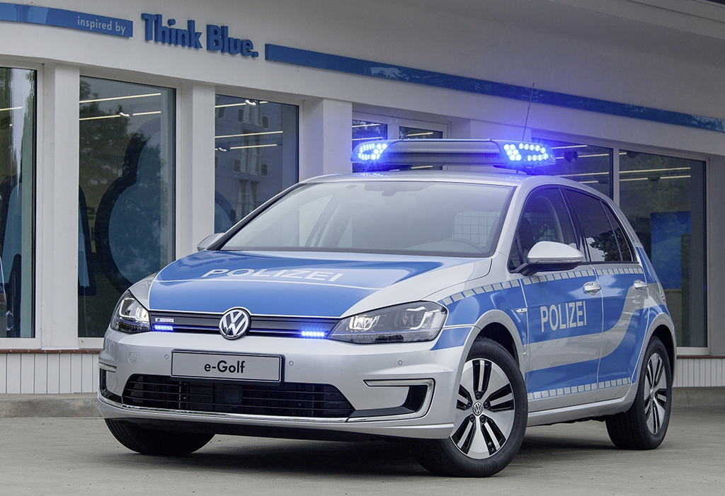 e-Golf kommt in den Polizeidienst