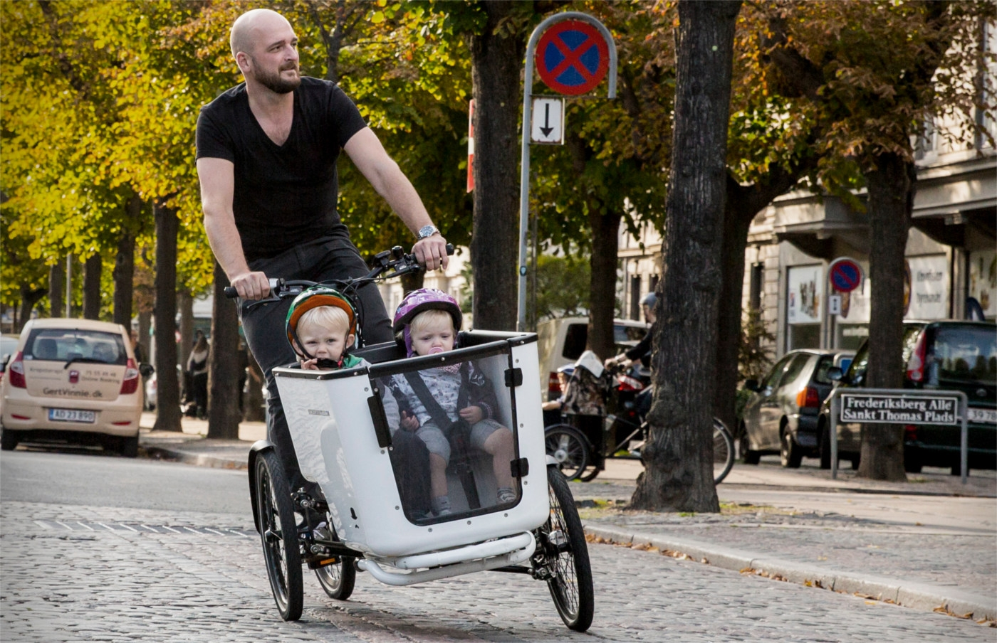 Das MK1-E von butchers & bicycles: Schickes, elektrisches Cargo-Bike als urbane Auto-Alternative