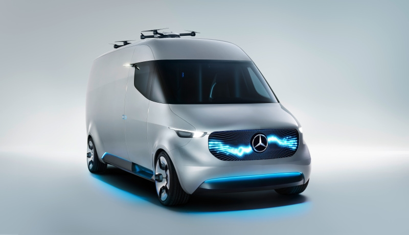 Elektrotransporter: Hermes vergibt Riesenauftrag an Mercedes