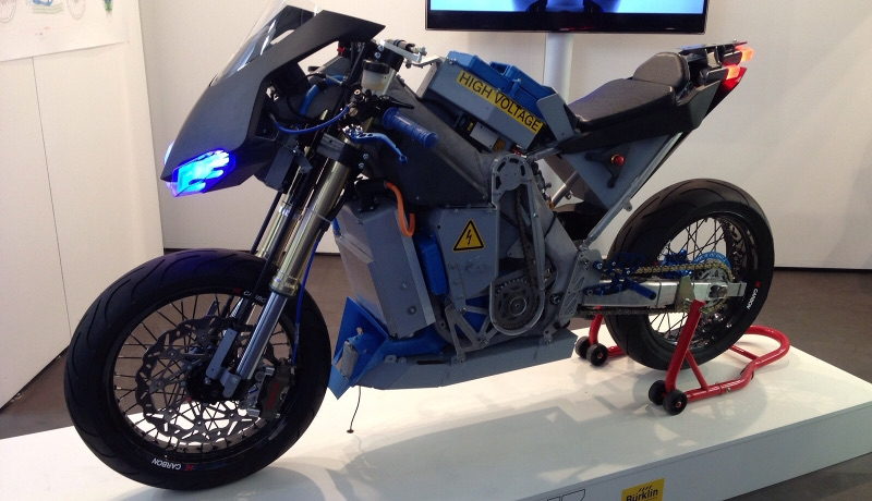 Gauss-Projekt: High Performance Elektromotorrad auf der IAA (mit Video)