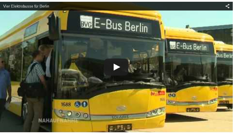 Video: Elektrische Buslinie in Berlin startet in die Testphase