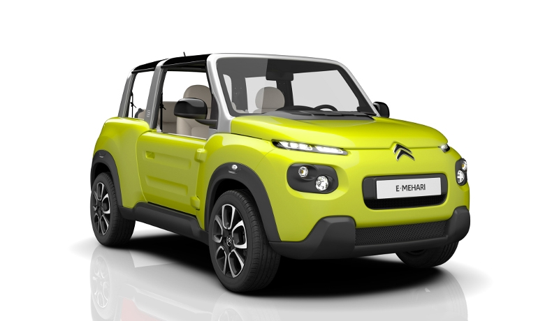 Back to Future: Citroën E-Méhari (mit Bildergalerie)