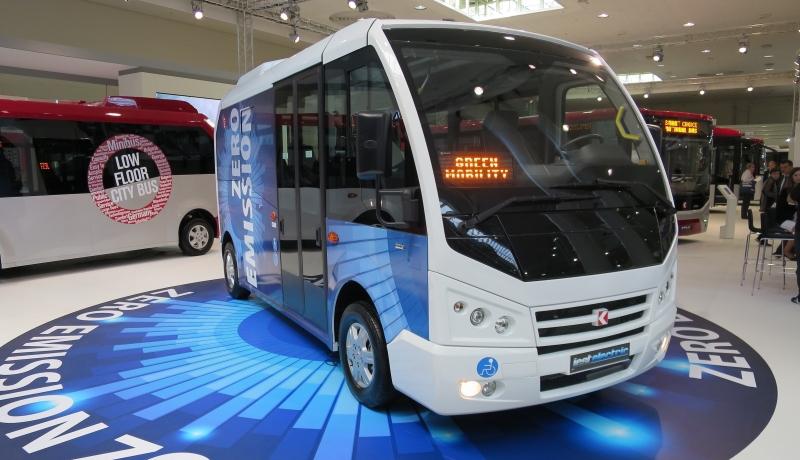 Türkischer E-Kleinbus präsentiert
