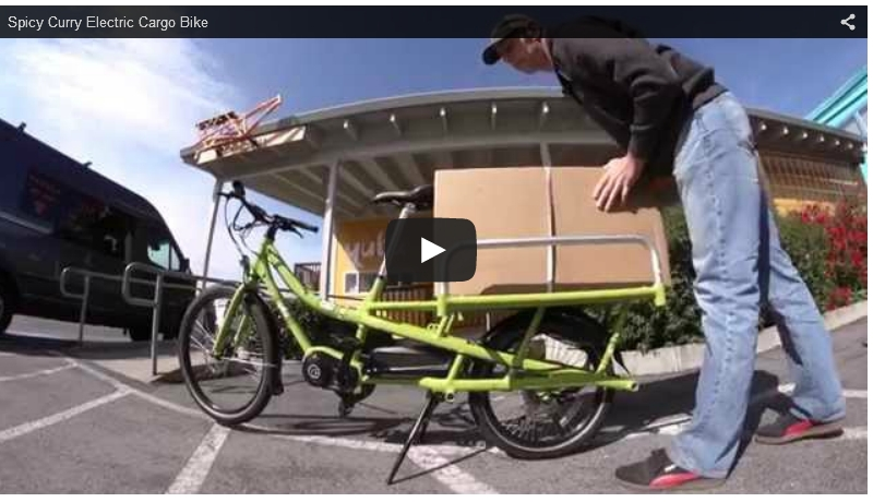 Spicy Curry: Neues Cargo-E-Bike aus den USA (Video)