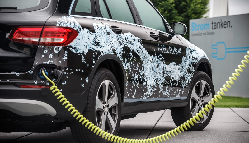 Prototyp des Mercedes-Benz GLC-F-CELL