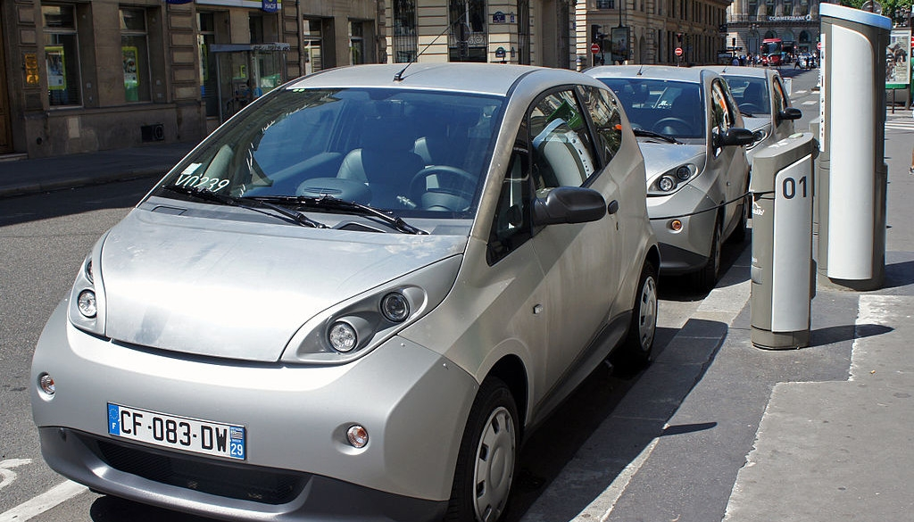 E-Carsharing in Paris